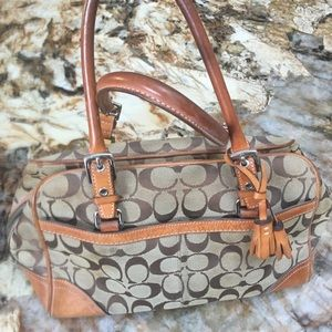 Used coach handbag, authentic